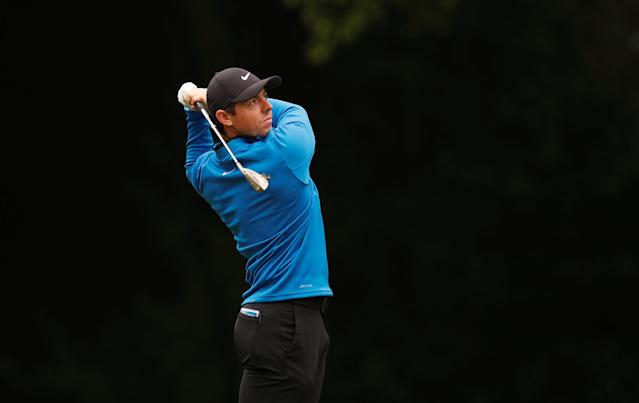 Golf - European Tour - BMW PGA Championship - Wentworth Club, Virginia Water, Britain - May 24, 2018 Northern Ireland's Rory McIlroy in action during the first round Action Images via Reuters/Paul Childs