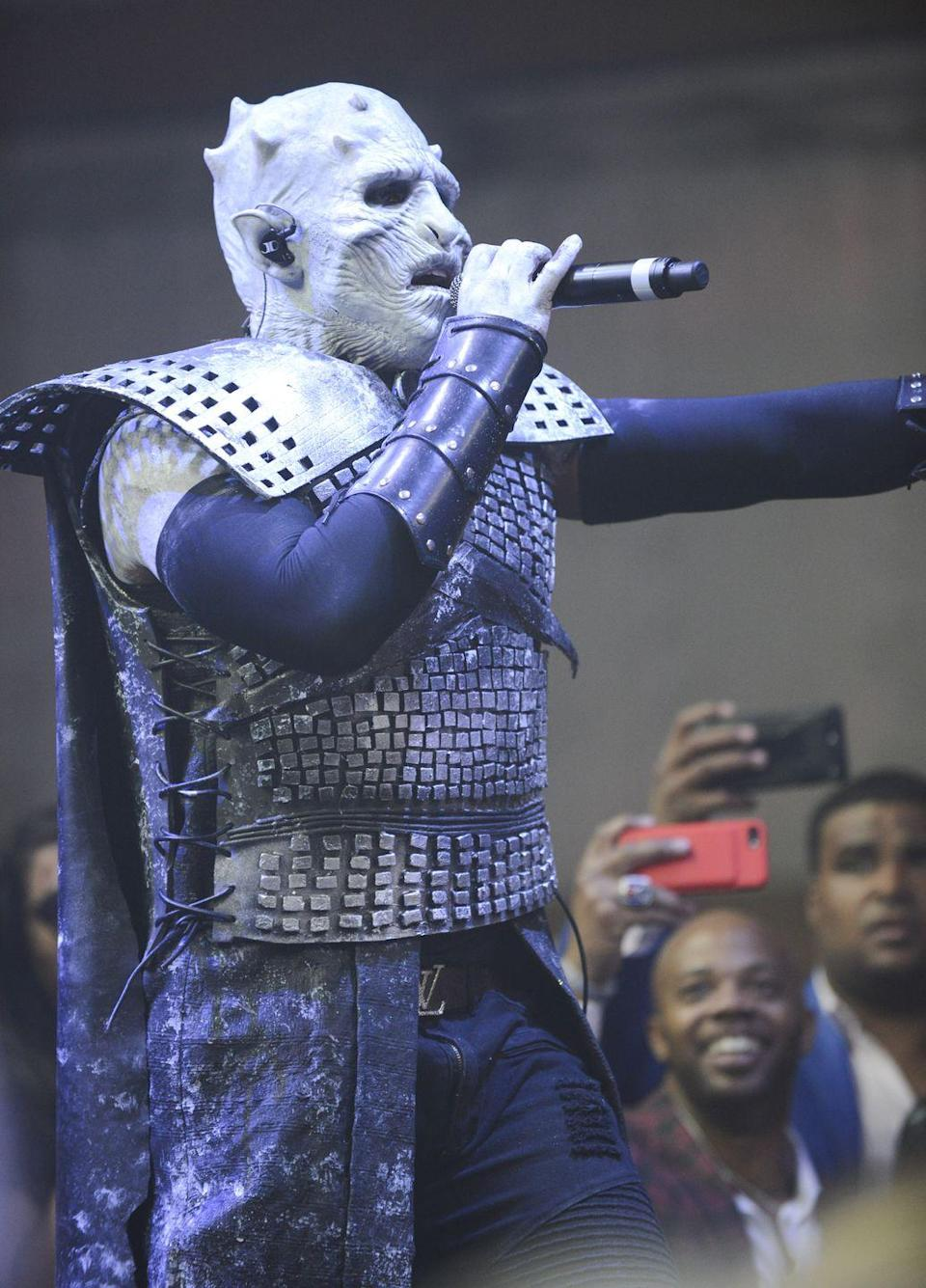 <p>Jason Derulo is as terrifying as he is unrecognizable in his <em>Game of Thrones</em>-inspired costume.</p>