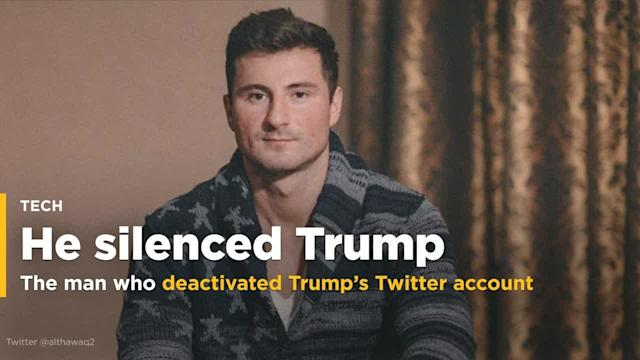 <p>The very active, very watched Twitter account of President Donald Trump was abruptly deactivated for 11 minutes. The man responsible for those 11 minutes moved back home to Germany, and spoke about what happened that day. </p>