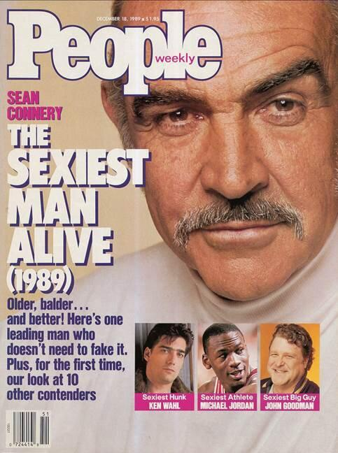 Sean Connery Was PEOPLE's Oldest Sexiest Man Alive After Getting Named at 59