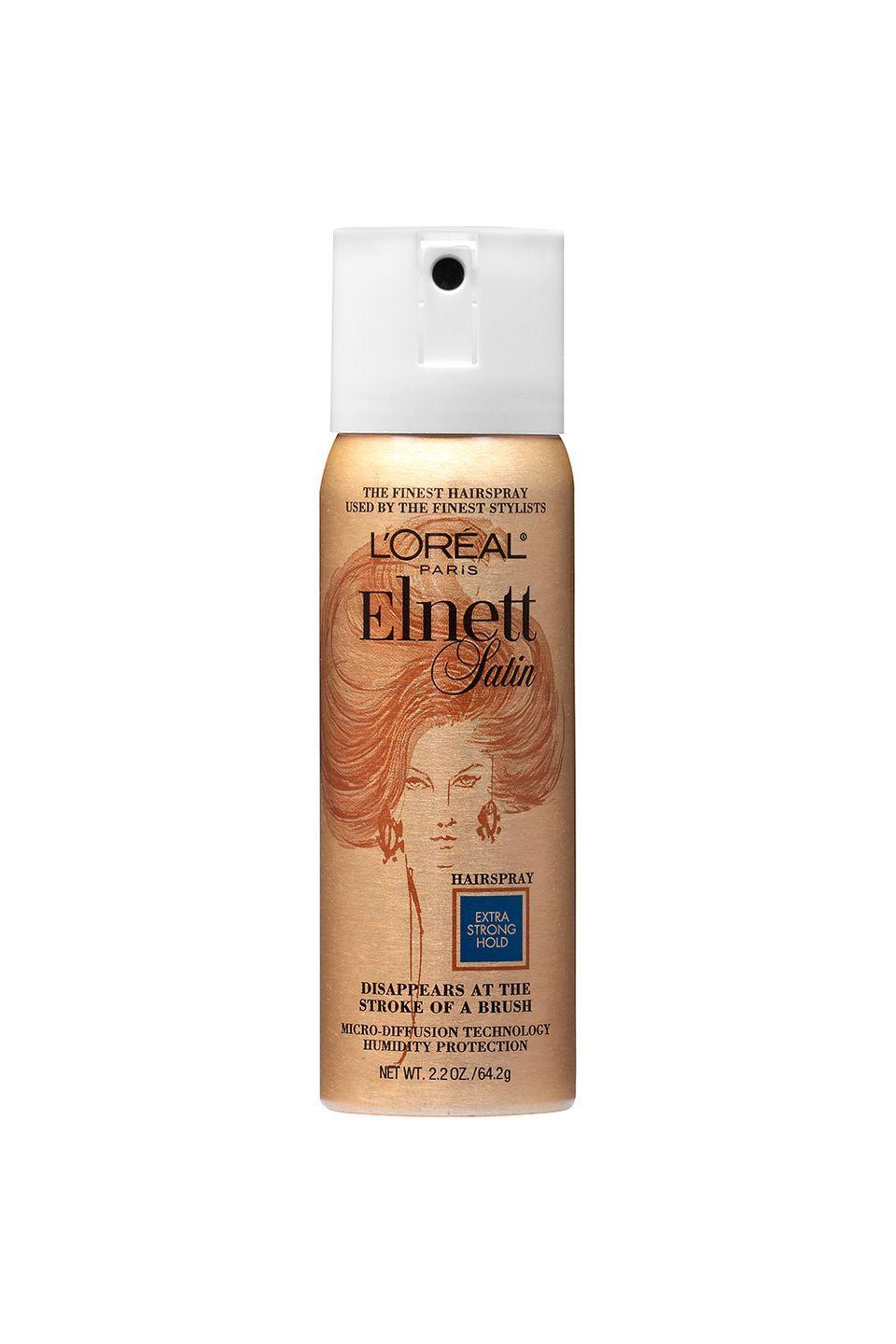 """<p>Touch up after practice, or before your school picture. </p><p>L'Oréal Paris Mini Elnett Satin Extra Strong Hold Hairspray, $6, <a href=""""https://www.walgreens.com/store/c/l'oreal-paris-elnett-satin-hairspray-travel-size-extra-strong-hold/ID=prod6012385-product"""" rel=""""nofollow noopener"""" target=""""_blank"""" data-ylk=""""slk:walgreens.com"""" class=""""link rapid-noclick-resp"""">walgreens.com</a></p>"""