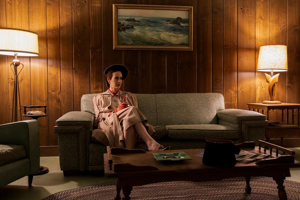 RATCHED (L to R) SARAH PAULSON as MILDRED RATCHED in episode 101 of RATCHED Cr. SAEED ADYANI/NETFLIX © 2020