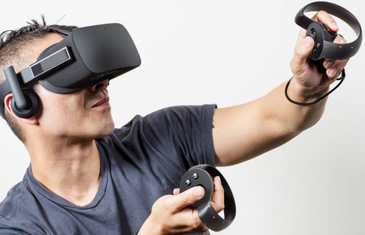 The Oculus Rift.