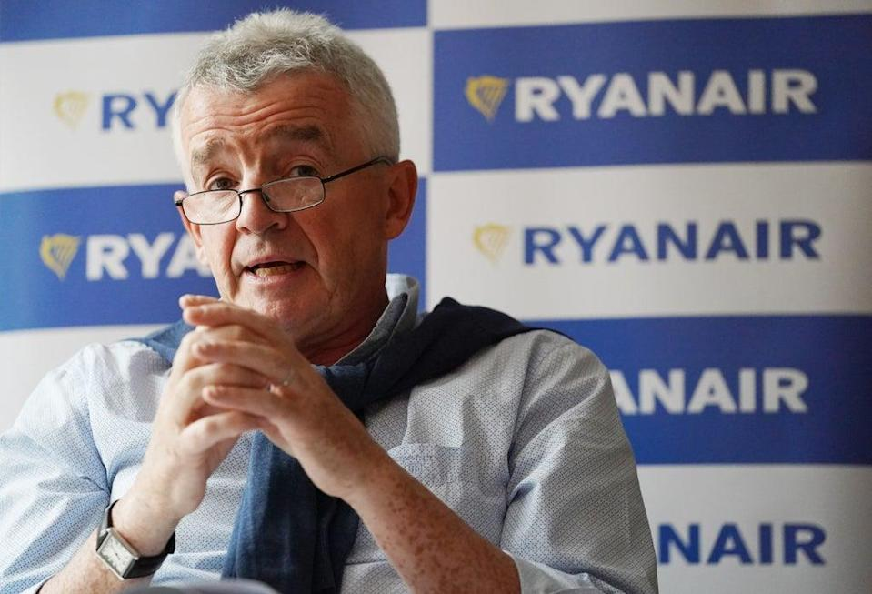 Ryanair boss Michael O'Leary has said there will 'never be a better time' to book a winter break (Jonathan Brady/PA) (PA Wire)