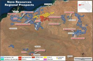 Map showing conglomerate and basement prospects across the Pilbara.