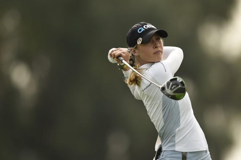 Korda builds two-shot lead at ANA Inspiration