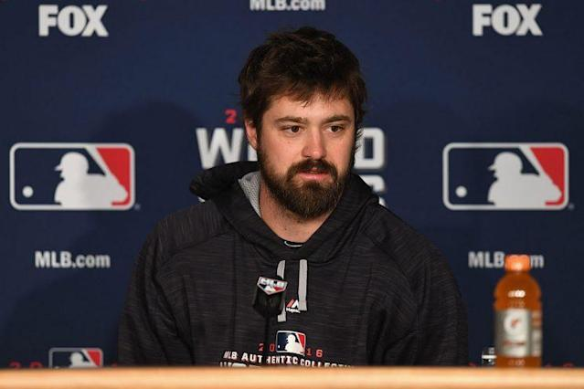 Andrew Miller has a high quality beard. (Getty Images)