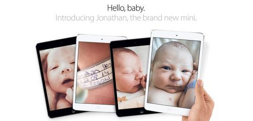 Birth announcement for son of former Apple employee