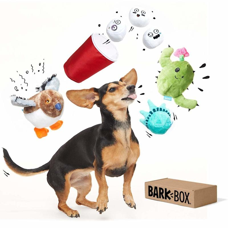 BarkBox Best of Box Plush Toy Bundle for Small/Medium Dogs