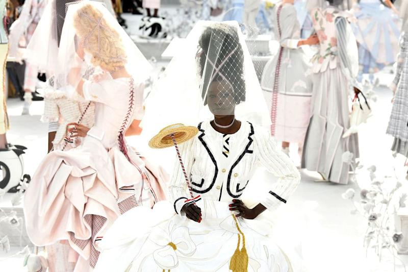 Watch the Thom Browne Runway Show Live