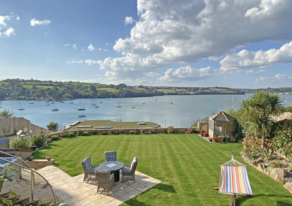 The view from the house is incredible. (Rightmove)