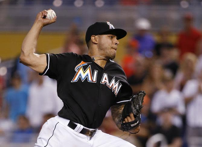 AJ Ramos Traded from Marlins to Mets for Merandy Gonzalez, Ricardo Cespedes