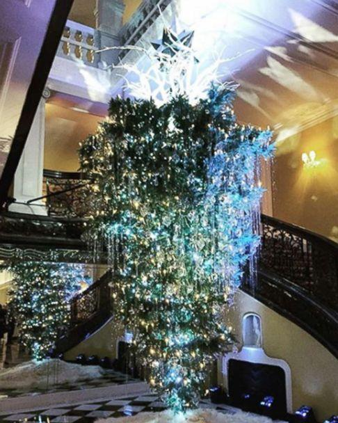 Photo An Upside Down Christmas Tree Shared On Instagram Isabella8gi
