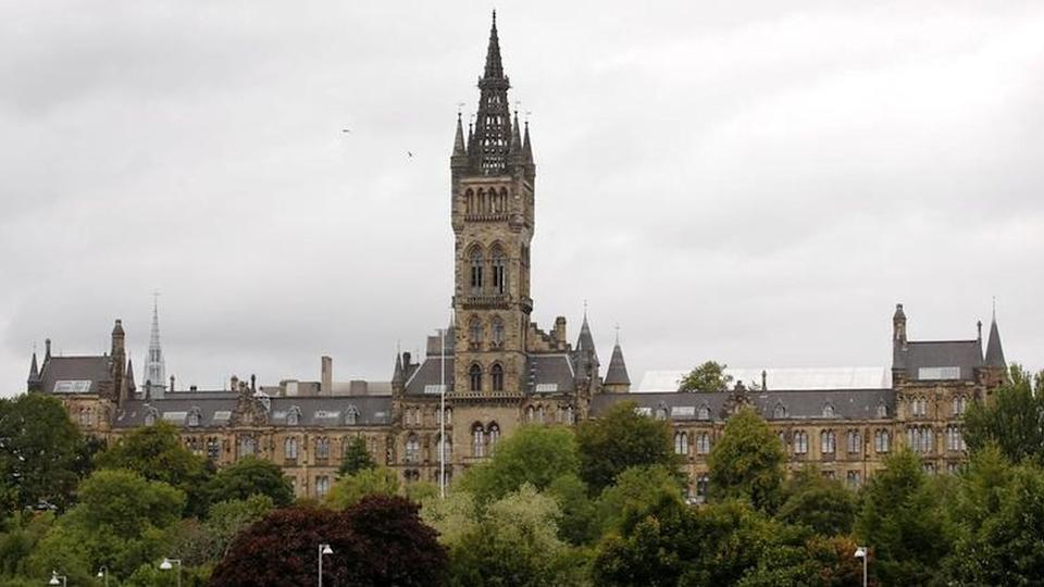 The University of Glasgow has posted an online notice to its alumni and other donors about the incident