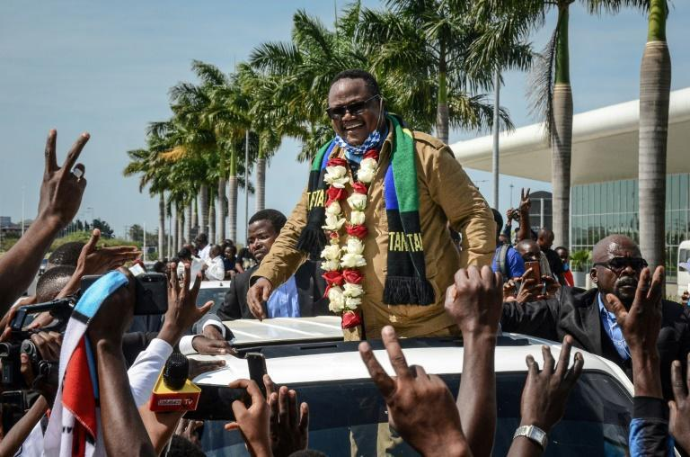 """""""After five years of repression, I was not expecting this kind of enthusiasm and mass support from the people,"""" Lissu told AFP"""