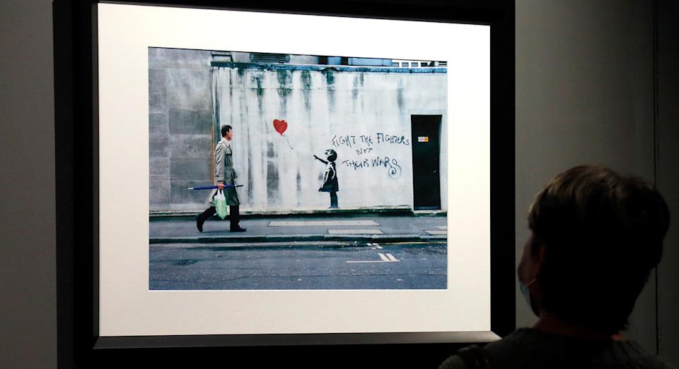 Google searches for museums have soared over the last few months, and 'The Atrt of Banksy' exhibition is one high on our list.  (Getty Images)