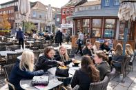 Cafes, bars and restaurants reopen as COVID-19 restrictions ease in Roskilde