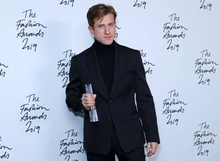 Bottega Veneta's young creative director Daniel Lee was named designer of the year at the glitzy Fashion Awards in London (AFP Photo/ISABEL INFANTES)