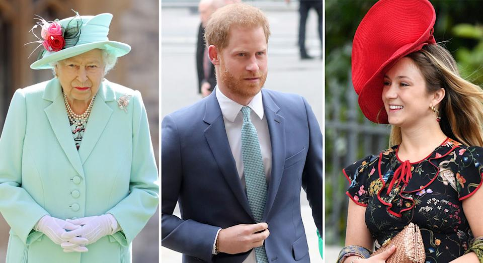 Some want Harry to be removed from the line of succession. (Getty Images)