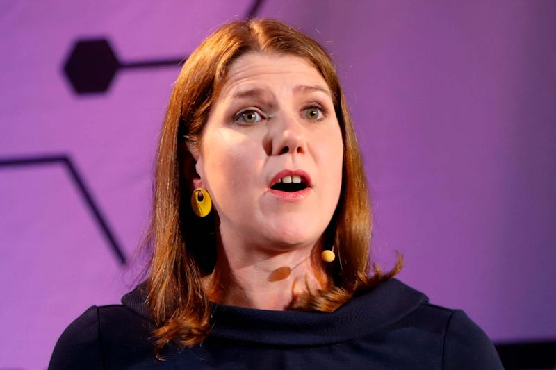 Leader of the Liberal Democrats Jo Swinson (AFP/Getty Images)