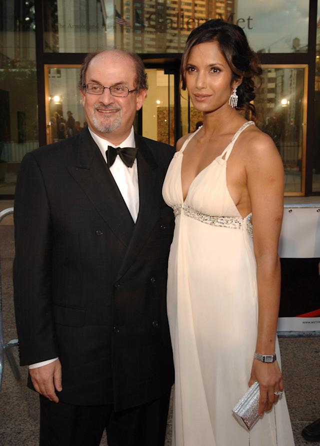 Padma Lakshmi and Salman Rushdie in 2006. (Photo: Getty Images)