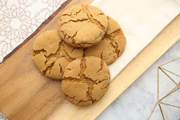 PHOTO: Jessica Seinfeld's chewy gingersnap cookie recipe (ABC News)