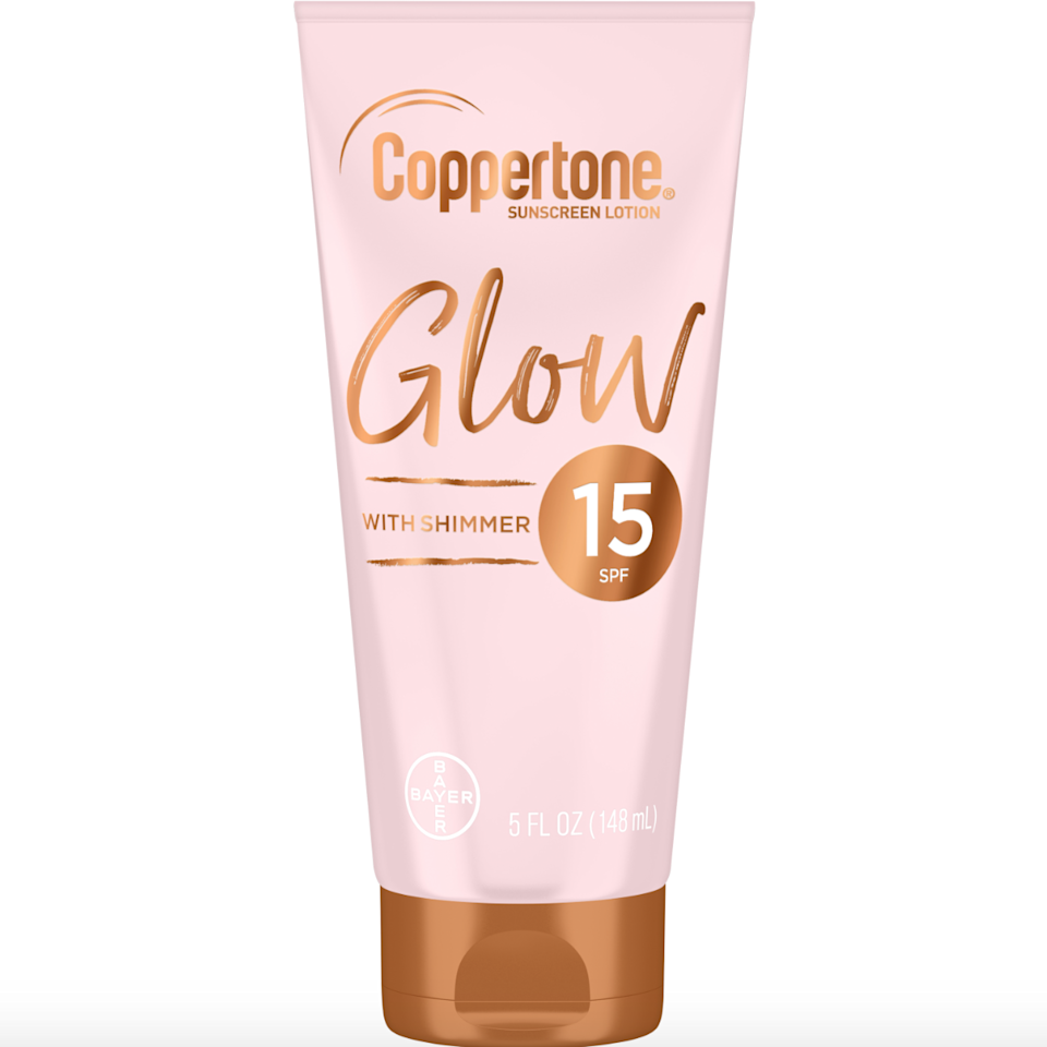 """<p>This is a game-changer for the industry. Coppertone launched an SPF (which we all should <a href=""""https://www.allure.com/gallery/best-sunscreens-for-summer?mbid=synd_yahoo_rss"""">be wearing daily</a>) but with shimmer. The formula comes in SPF 15, 30 and 50. If you want to glow in the sun, this is a must-have.</p> <p><strong>$9</strong> (<a href=""""https://shop-links.co/1681365444138689621"""" rel=""""nofollow"""">Shop Now</a>)</p>"""