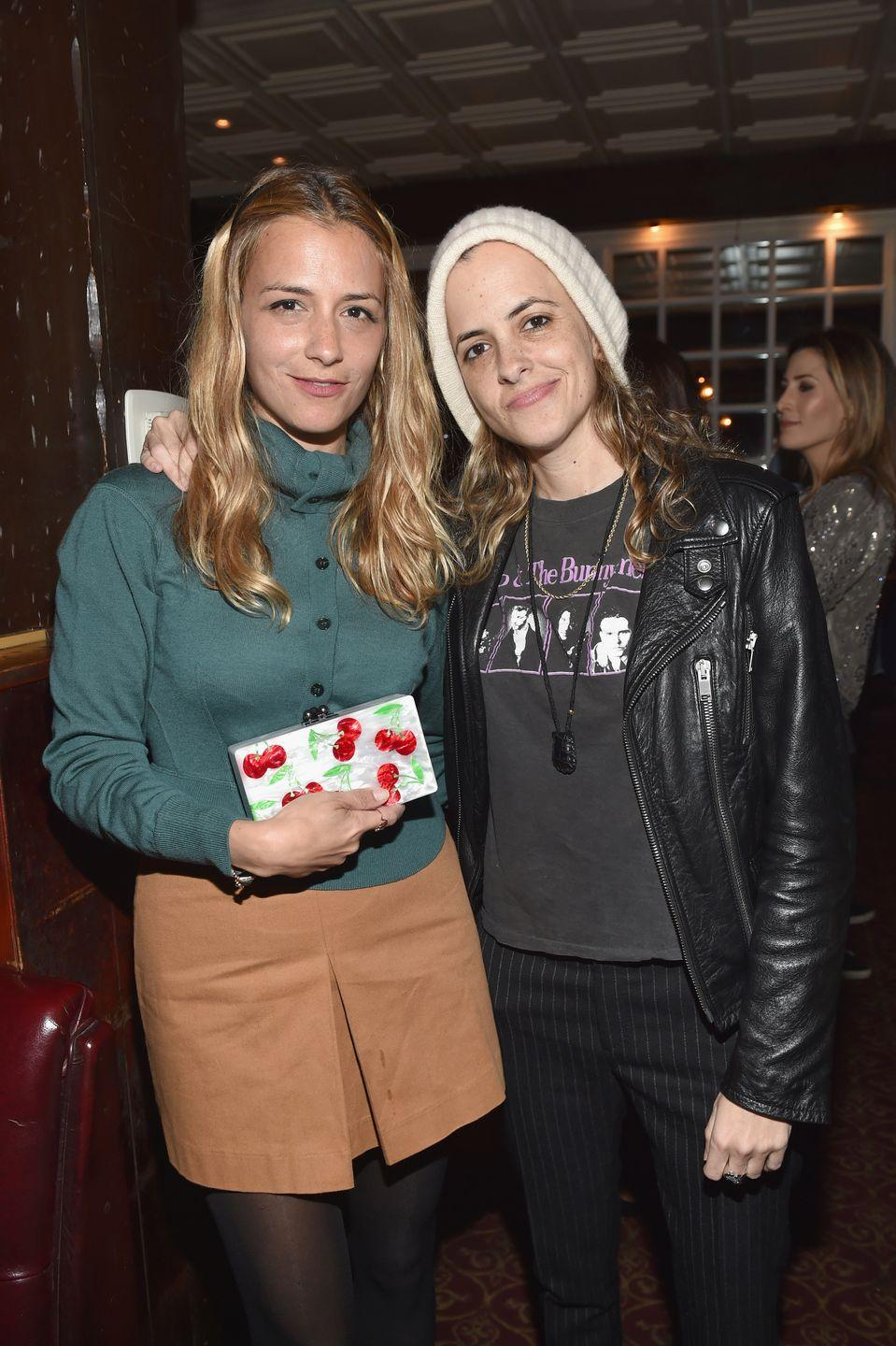 <p>Twins Charlotte and Samantha Ronson have very different interests: Charlotte's a fashion designer and Samantha's a DJ. But their slight smiles and deep set brown eyes make it undeniable that they're related.</p>