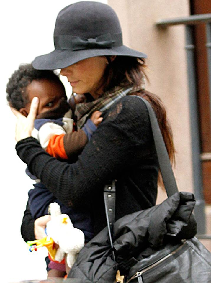 """""""Sandra Bullock's family of two is about to get a little larger -- she's in the process of adopting again,"""" reports <i>Star</i>, adding, """"This time she wants a girl."""" According to the mag, Bullock """"can't wait"""" for when she and her daughter will be able """"to shop and do their nails together."""" To find out how surprisingly soon the adoption of her little girl will be finalized, check out what Bullock's rep exclusively tells <a href=""""http://www.gossipcop.com/sandra-bullock-adopting-again-baby-girl-daughter-sister- adoption/"""" target=""""new"""">Gossip Cop</a>. Marcel Thomas/<a href=""""http://www.filmmagic.com/"""" target=""""new"""">FilmMagic.com</a> - November 6, 2010"""
