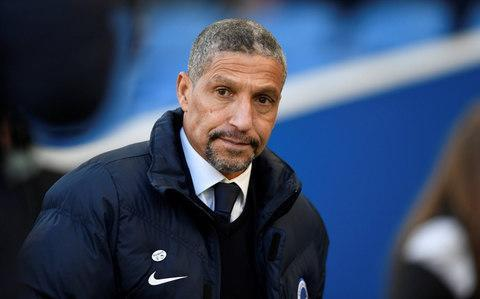 Brighton manager Chris Hughton ready to settle another old score - the 1983 FA Cup final - in Man Utd clash