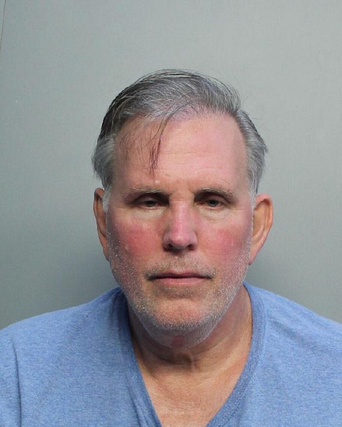 Joseph Fucheck is seen in his booking photo last month.
