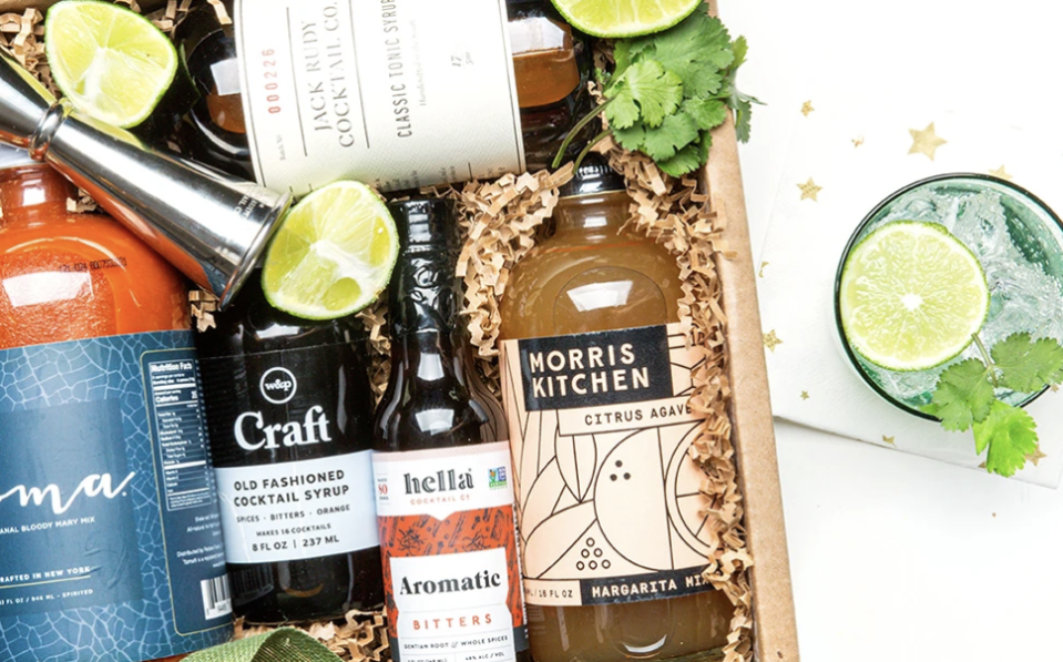 """<p>Get boozy with Mouth's cocktail subscription box that will come with all the fancy bitters, syrups, and drink mixes you'll need to wow at your next dinner party. Being a mixologist at home has never been so easy. </p><p><a class=""""link rapid-noclick-resp"""" href=""""https://go.redirectingat.com?id=74968X1596630&url=https%3A%2F%2Fwww.mouth.com%2Fproducts%2Fcocktail-of-the-month-club&sref=https%3A%2F%2Fwww.delish.com%2Fkitchen-tools%2Fg36689067%2Fbest-snack-subscription-boxes%2F"""" rel=""""nofollow noopener"""" target=""""_blank"""" data-ylk=""""slk:SUBSCRIBE"""">SUBSCRIBE</a></p>"""
