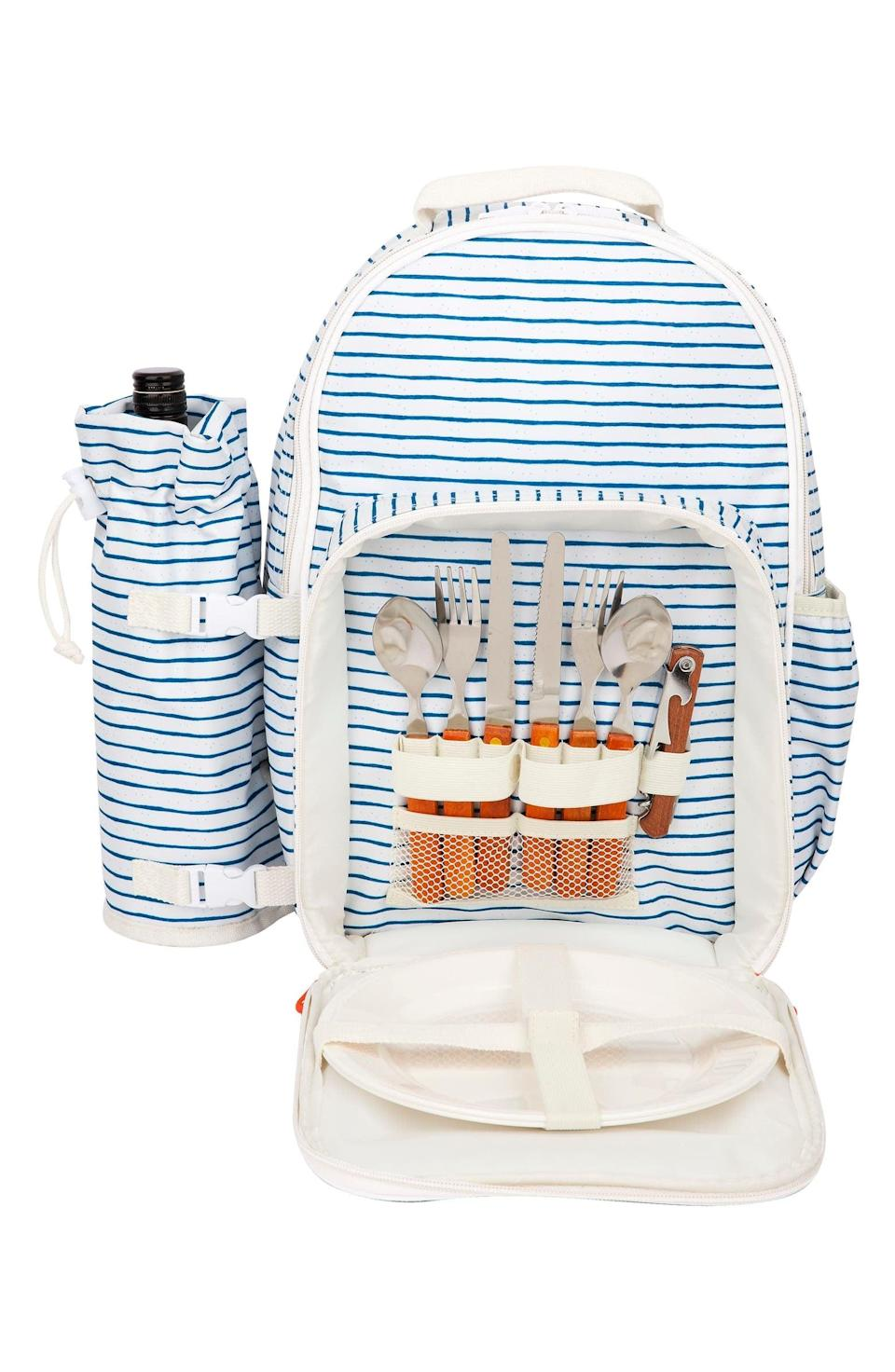 <p>If you love to eat outdoors, this <span>Sunnylife Picnic Cooler Backpack</span> ($90) will keep your food and drinks cool.</p>