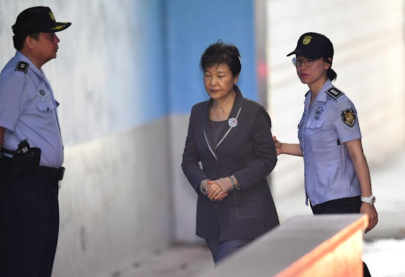 Park is already on trial on 18 charges including bribery, coercion and abuse of power