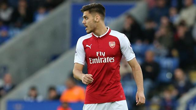 The 20-year-old was dismissed early on as the Gunners suffered a 3-1 loss at Leicester, with his manager prepared to accept blame for a selection risk