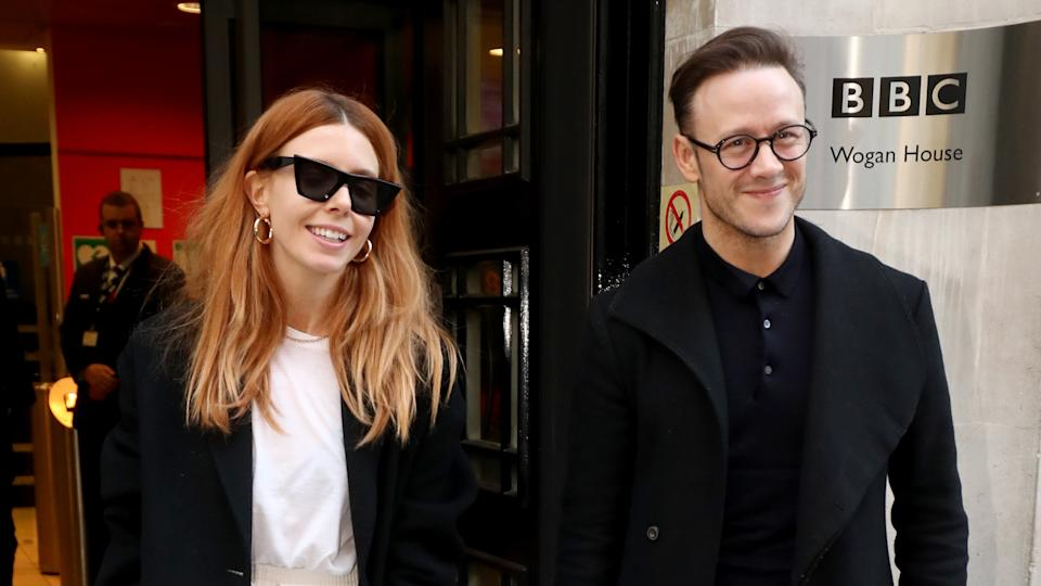 Stacey Dooley and Kevin Clifton (PA)