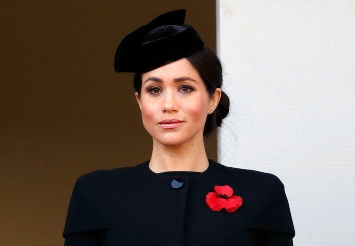 Meghan Markle, duquesa de Sussex, en el Domingo del Recuerdo de 2018. (Photo: MAX MUMBY/INDIGO VIA GETTY IMAGES)
