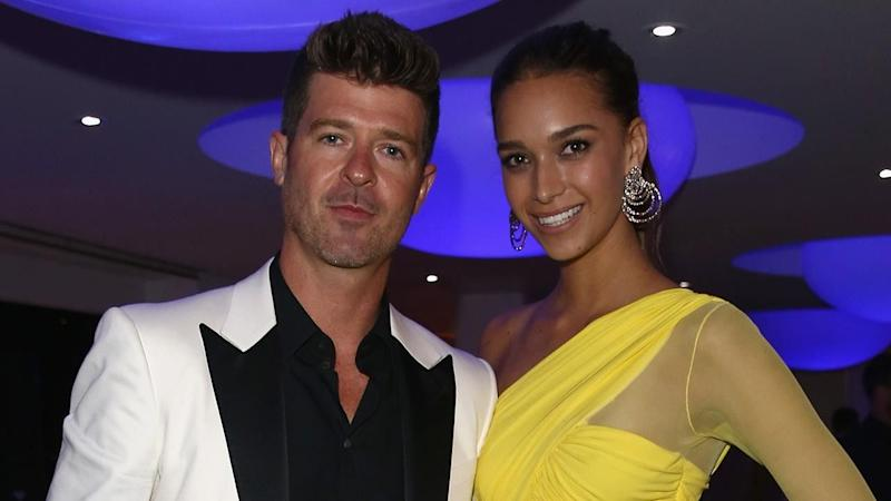 Robin Thicke's Girlfriend April Love Geary Pregnant With Baby No. 2