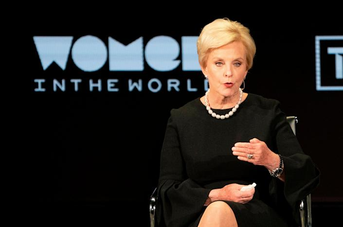 'We are Republicans, yes, but Americans foremost,' said Cindy McCain (AFP/Getty)