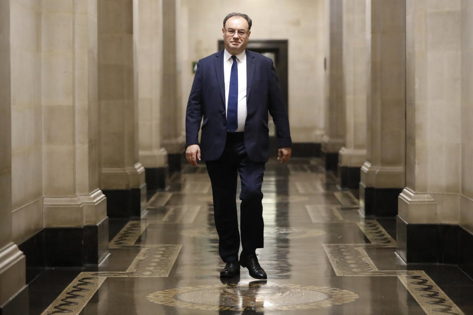 Bank of England Governor Andrew Bailey. Photo: Tolga Akmen/WPA Pool/Getty Images