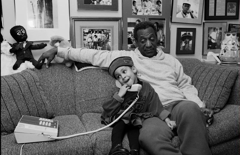 UNITED STATES - JANUARY 01: Raven Symone and Bill Cosby (Photo by The LIFE Picture Collection via Getty Images)