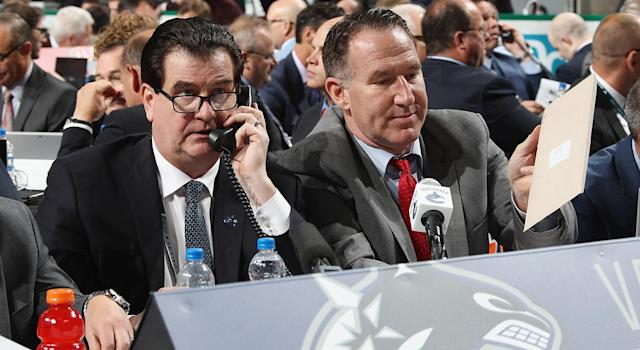 Jim Benning hasn't done all he can to improve his prospect pool. (Bruce Bennett/Getty Images)
