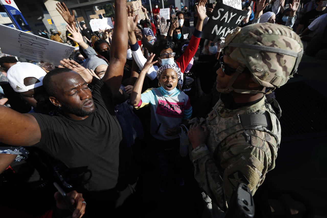 Across the country, thousands plead for justice as chaos, unrest grows