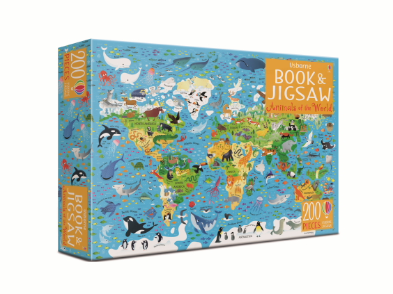 This 200-piece jigsaw will keep kids occupied (but not bored) during the holidays (Usbourne)