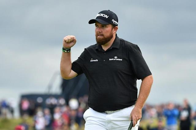 Ireland's Shane Lowry leads the British Open by four shots heading into Sunday's final round (AFP Photo/Glyn KIRK )
