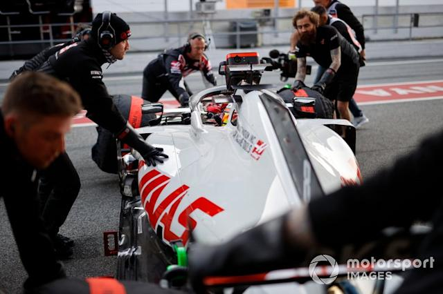 """Haas F1 Team: 649 (3021 km) <span class=""""copyright"""">Andrew Hone / Motorsport Images</span>"""
