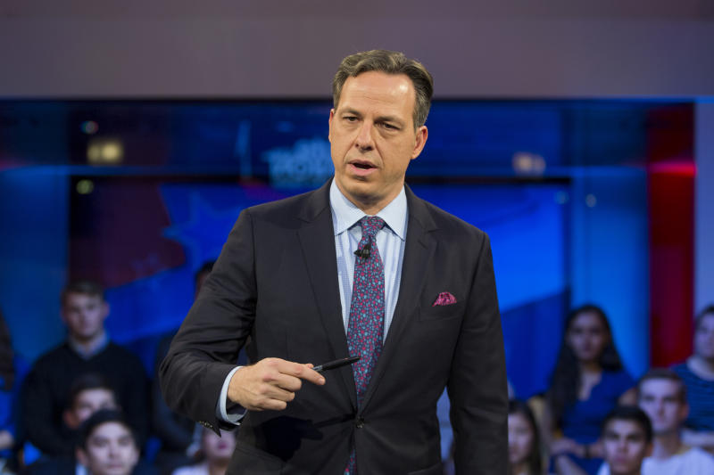 Jake Tapper (pictured in 2016) called out Trump's handling of the coronavirus pandemic. (Photo: Scott Eisen/Getty Images)