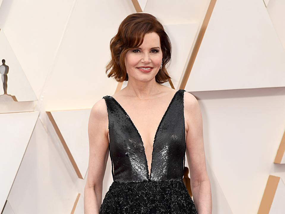 Geena Davis is reflecting on sexism and sexual harassment in Hollywood. (Photo: Jeff Kravitz/FilmMagic)