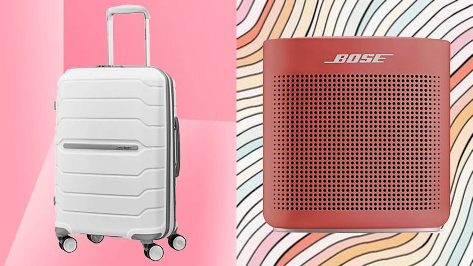 Save up to 43 percent on Samsonite, Bose, NutriBullet and more! (Photo: QVC)