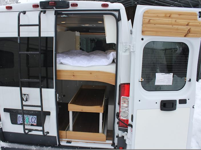 Dirtbag Conversions' Ram ProMaster build.